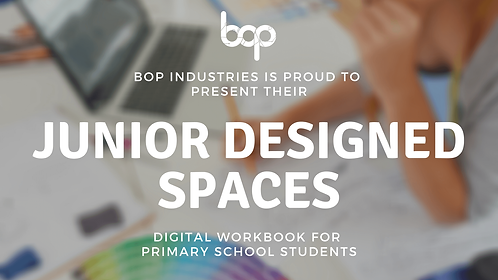 Designed Spaces Workbook - Primary