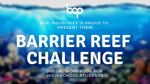 The Great Barrier Reef Challenge Workbook - High School
