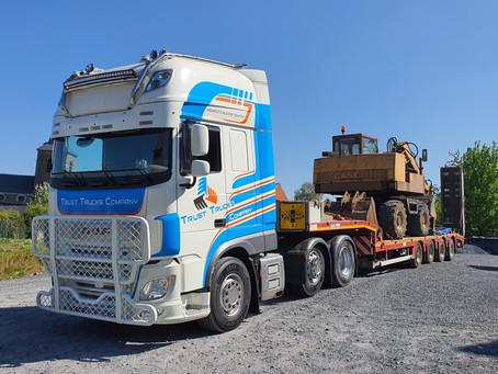 Réception des nouveaux camions