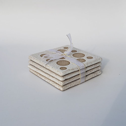 Polka Dot Coasters