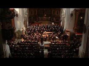 Los niños cantores de la catedral de St. Ursen