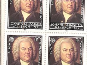 Bach. Mi coleción de sellos de música.