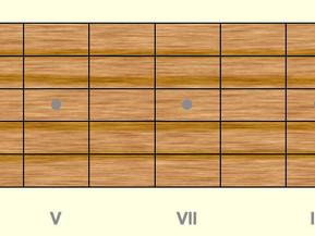 Ejercicio 9 . Guitarra fácil. Poco a poco