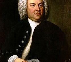 Aria Bach . Mano derecha y acordes