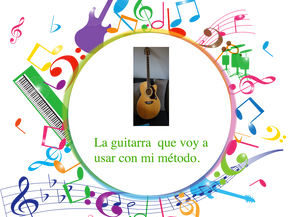 Mi guitarra para aprender. Método fácil