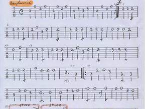 Navidad Navidad. Partitura: guitarra, laúd y música.