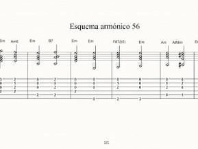 Esquema armónico 56. Partitura