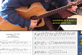 Acorde: La mayor. Guitarra