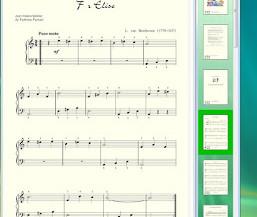 Programa para convertir pdf en música. Michelle.