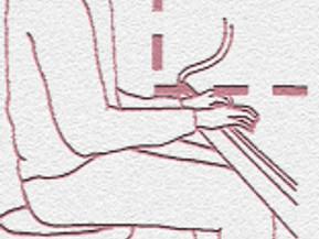 Posición del cuerpo en el piano.