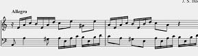 Aprender piano con Bach. Invención 13
