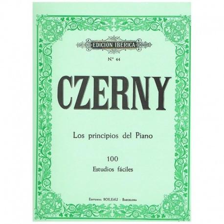 czerny-los-principios-del-piano-100-estudios-faciles