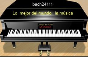 Preludio sencillo de Bach