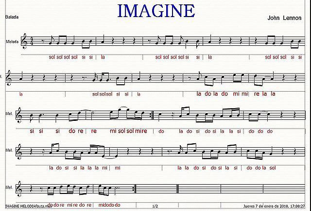 imagine flauta