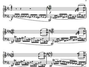 Sol#m       Re#m    Fa#m     Do#m    Triadas . Estudio revolucionario de Chopin nº 12