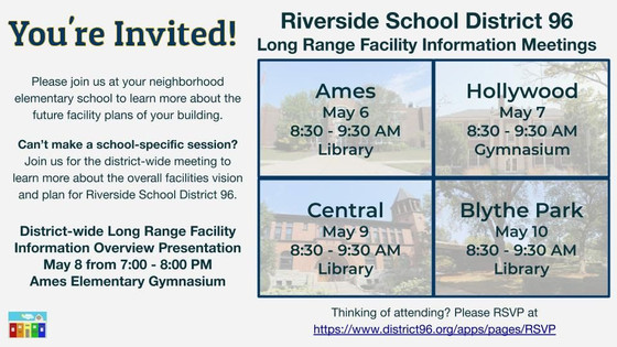 Join Us! District 96 Long Range Facility Information Meetings