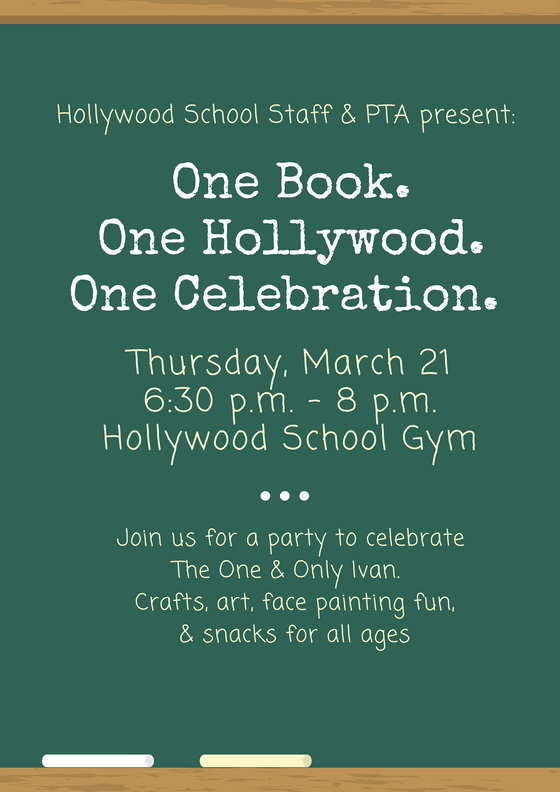 One Book. One Hollywood. One Celebration.