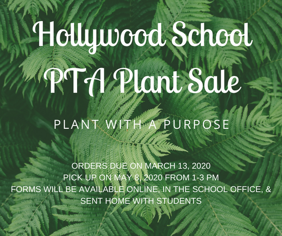 Plant with a Purpose: Hollywood School PTA Annual Plant Sale