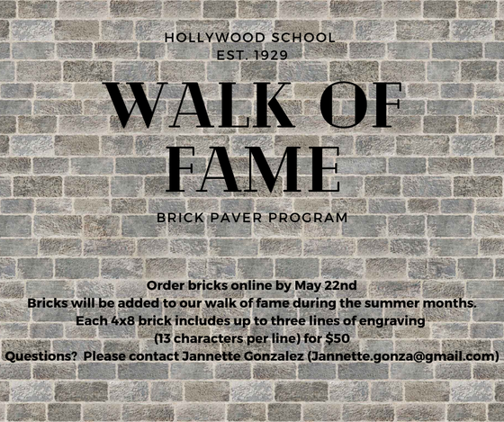 "Get Your Brick on the Hollywood ""Walk of Fame"""