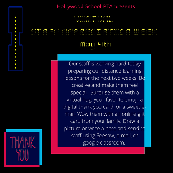 Staff Virtual Appreciation Week: How you can participate on May 4th & 5th