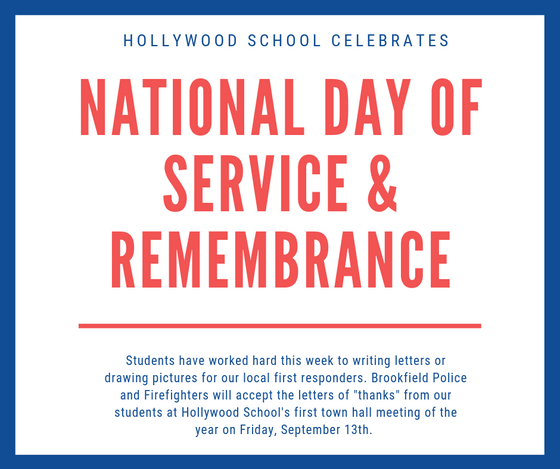 Hollywood Celebrates: National Day of Service & Remembrance