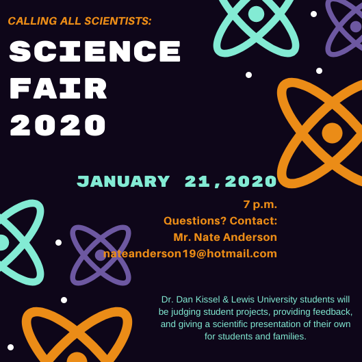 Science Fair Sign-Up