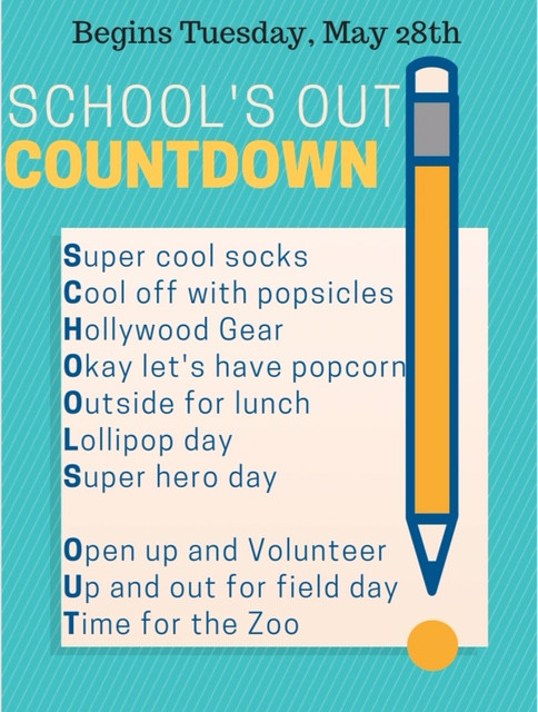 School's Out Countdown