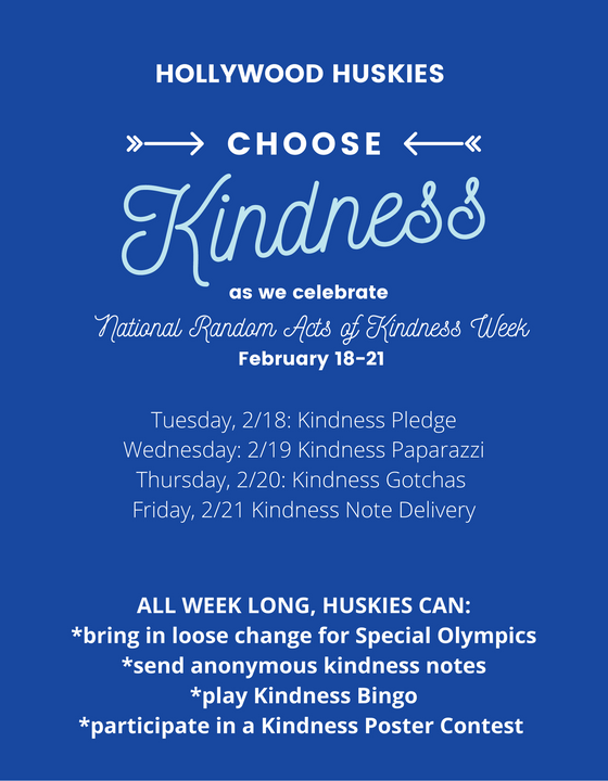Hollywood Celebrates: National Random Acts of Kindness Week