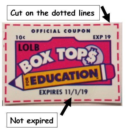 Keep clipping! Box Tops are Due Today 2/27