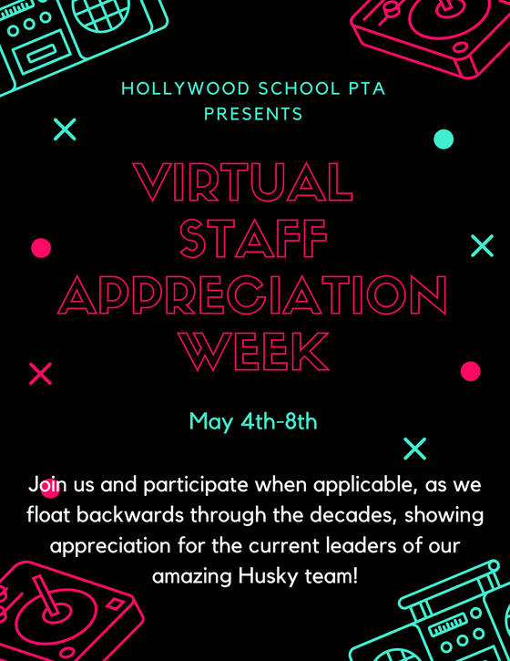 Virtual Staff Appreciation Week May 4th-8th
