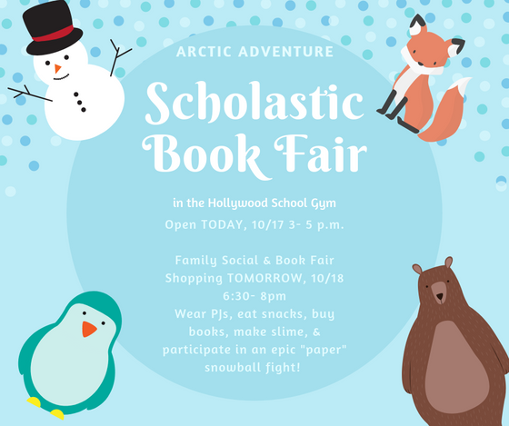 Book Fair is OPEN!