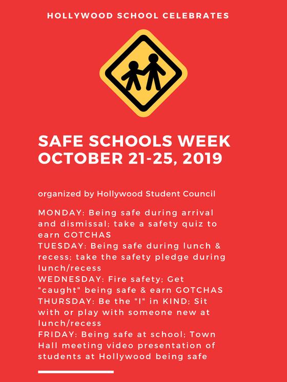 Hollywood Celebrates: Safe Schools Week