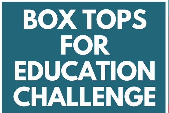 Box Tops for Education April Challenge