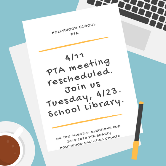 PTA Meeting Postponement