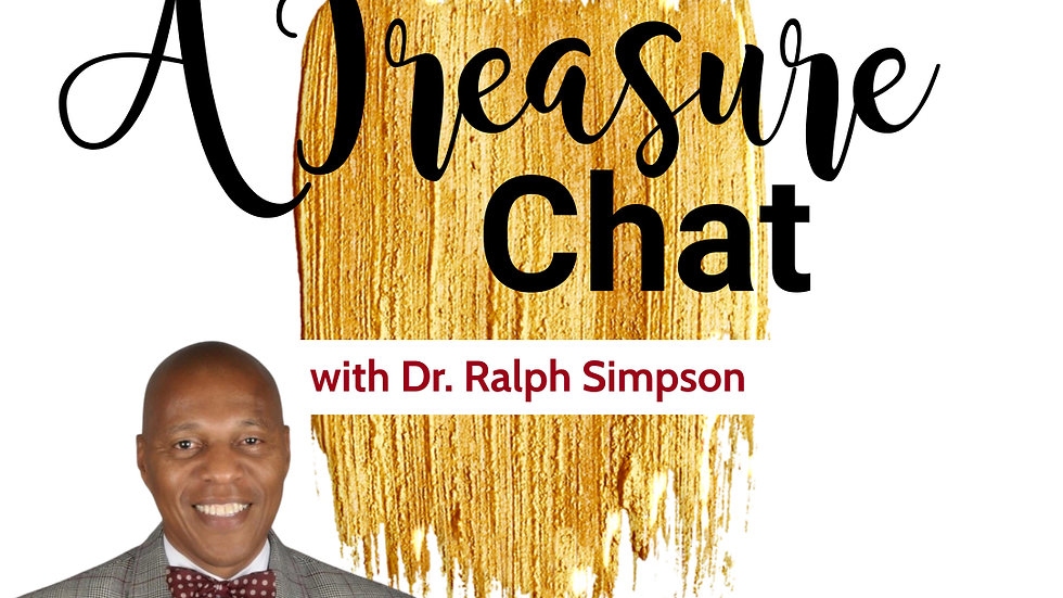 Registration for A Treasure Chat with Dr. Ralph Simpson