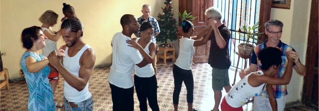 Kubasoy Salsa Lesson in Havana, Cuba