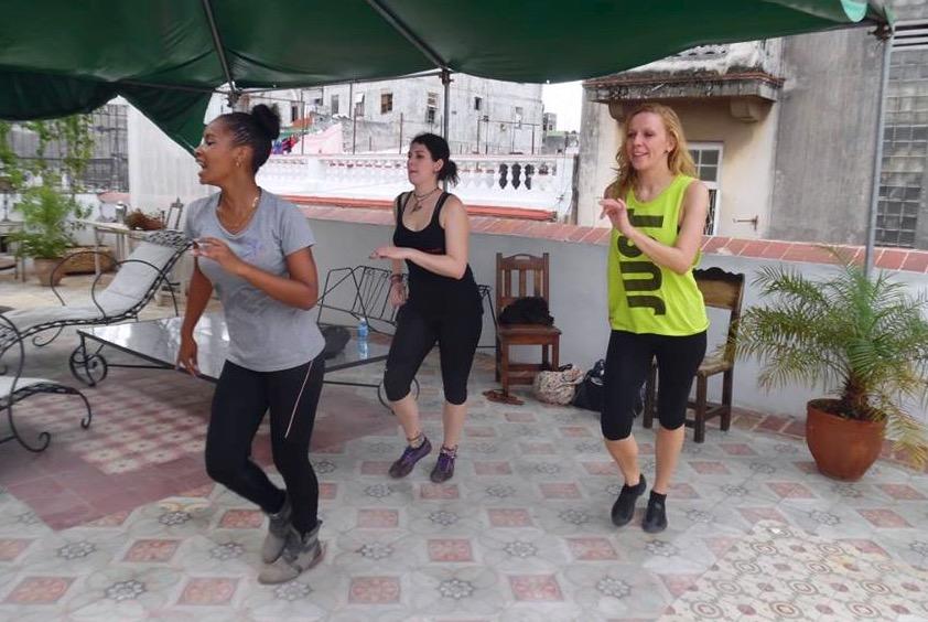 Kubasoy Salsa Class in Havana, Cuba