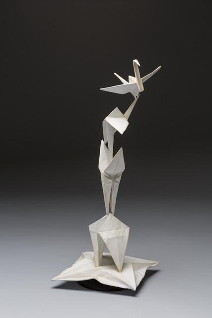 Crane Unfolding (maquette) by Kevin & Jennifer Box