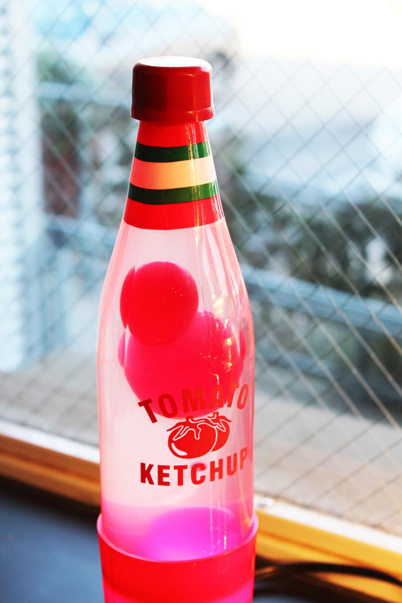 Ketchup Lava Lamp