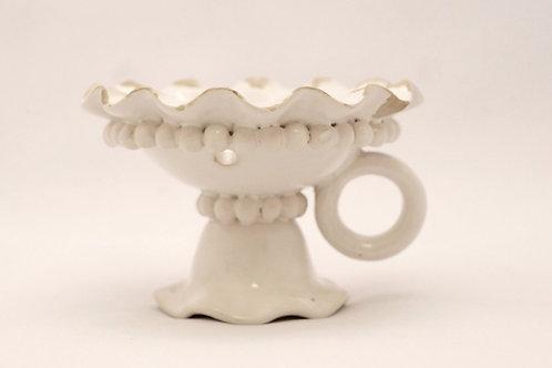 白いヴィンテージ陶器