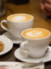 Kaffee, Capuccino, Espresso oder Latte Macchiato