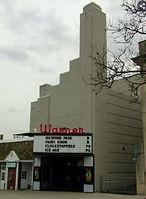 Ridgewood Warner Theater Art Deco.JPG