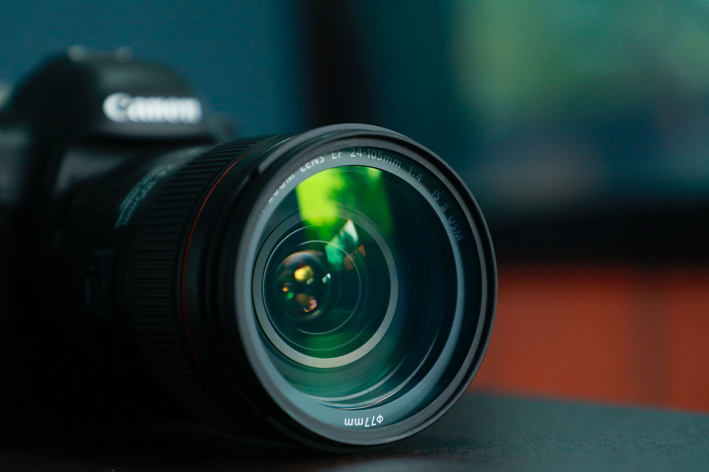 home studio example – focus on camera being used – budget option such as Canon EOS M50
