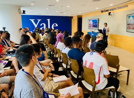 Lina shares with Yale Global Scholars in Beijing