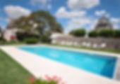 14x5m salt water heated pool (May-Sep)