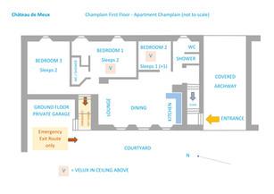 Apartment Champlain