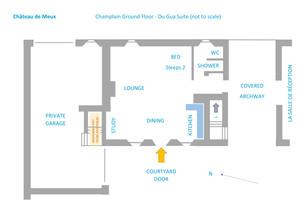 Champlain Ground - Du Gua Suite Floor Pl