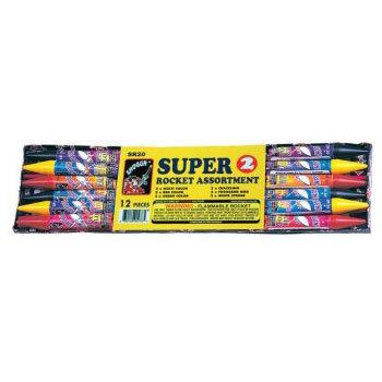 Super 2-Ounce Rocket Assortment [48/12]