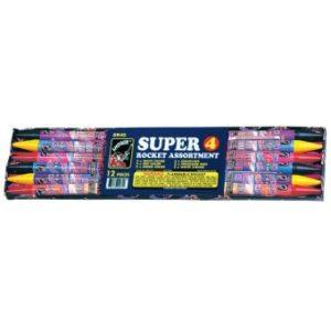 Super 4-Ounce Rocket Assortment