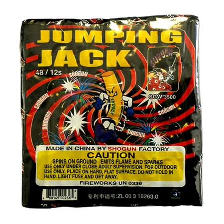 Jumping Jacks - 12 Count Packs